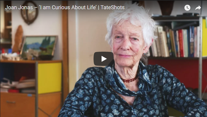 Video intervista con Joan Jonas Artribune